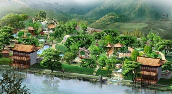 祝贺山东上水中标鲁地天沐(郯城)温泉度假村项目
