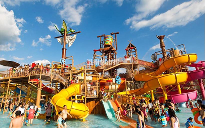 国内十大最值得去玩的水上乐园!