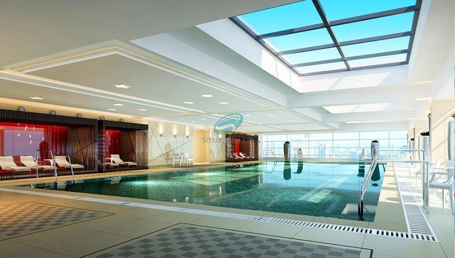 山东省社会主义学院游泳馆