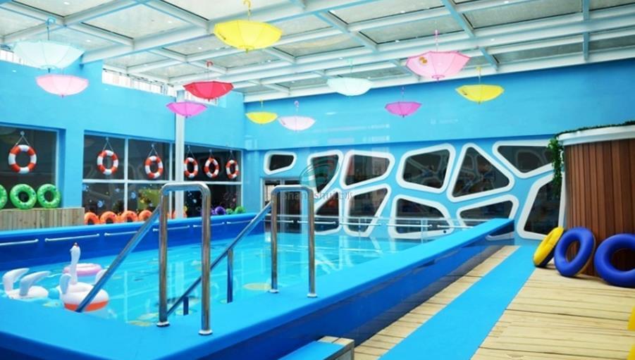 烟台东方海洋幼儿园游泳池设备安装工程