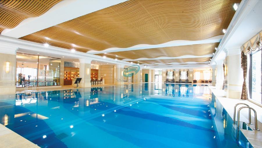 济南恒大绿洲运动中心游泳池及桑拿
