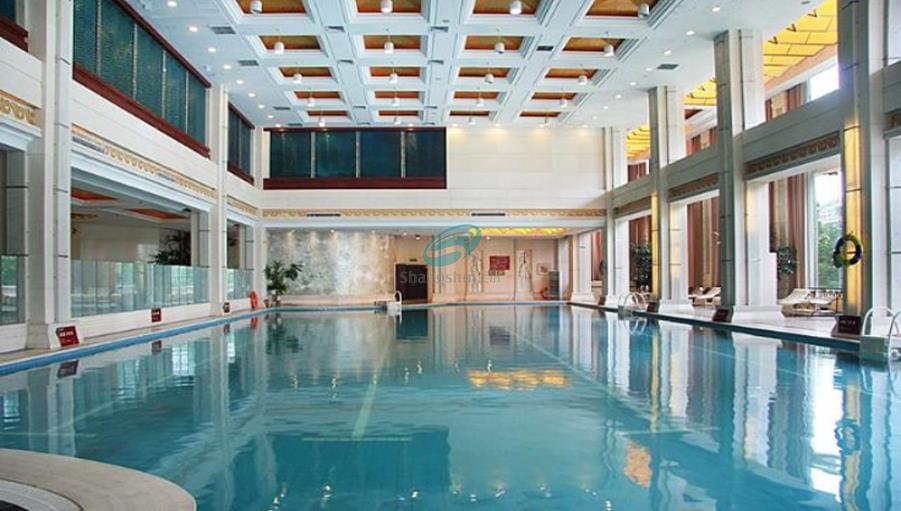 潍坊金茂国际大酒店游泳池设备安装工程