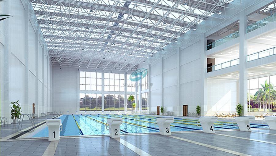 武警山东消防总队体能训练馆游泳池安装设备工程