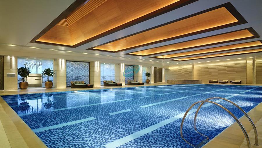 威海洲际休闲游泳度假区纹石宝滩金陵大酒店
