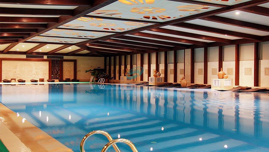 潍坊美丽华大酒店游泳池设备安装工程
