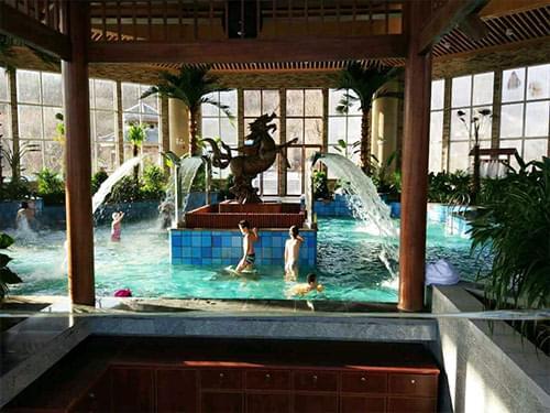 青岛藏马山温泉