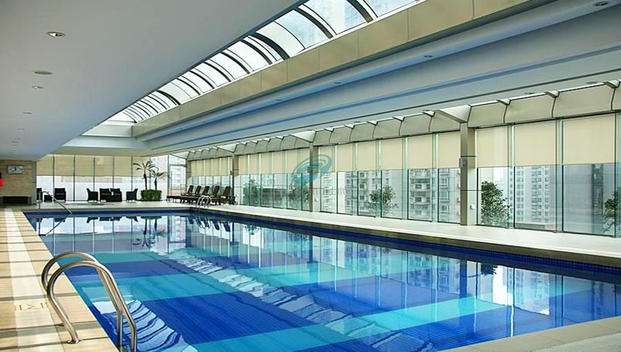 济南大溪地游泳池设备安装工程